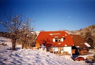 Bauernhof - Schneiderhof Unteribental im Winter