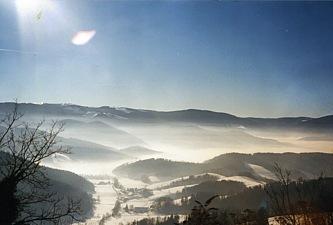 Winterlandschaft Unteribental